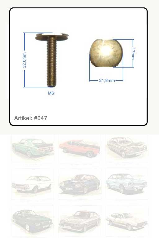 Schraube / Spezialschraube M 6