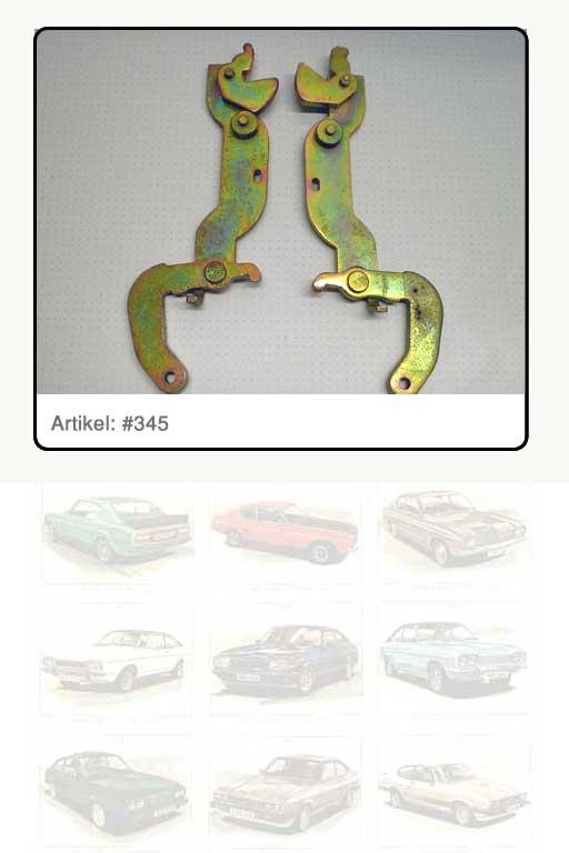 Bremsnachstellhebel, Originalteil neu aufgearbeitet für Capri II – III, mit AT-Pfand