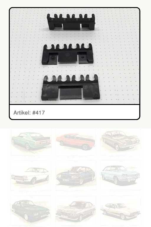 Zündkabelhalter 4-fach, Kunststoff schwarz