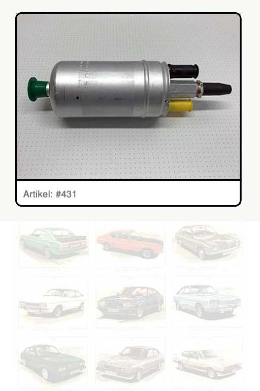 Kraftstoffpumpe / elektrische Kraftstoffpumpe Capri 2.8i