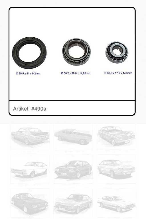 Radlagersatz / Vorderachse RS 2600