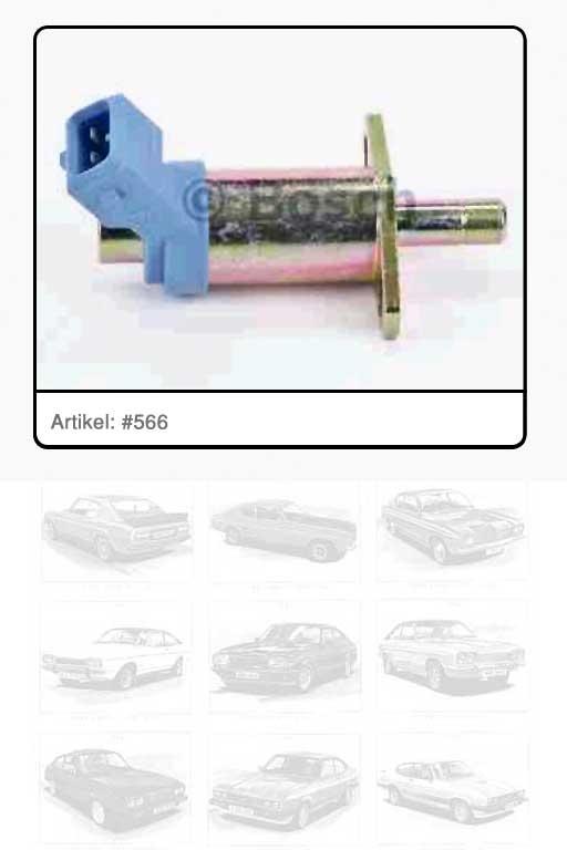 Kaltstartventil / Einspritzanlage Elektrostartventil