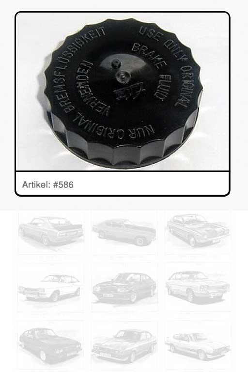 Verschlussdeckel / Schraubverschluss Ausgleichsbehälter