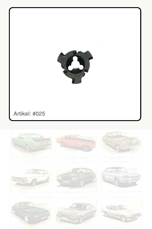 Clip Spezialteil Metall
