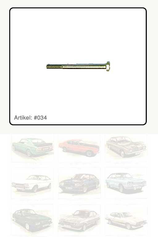 Sechskantschraube Thermostatgehäusedeckel