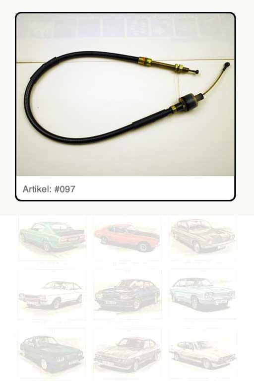 Kupplungszug  3.0 Essex-V6