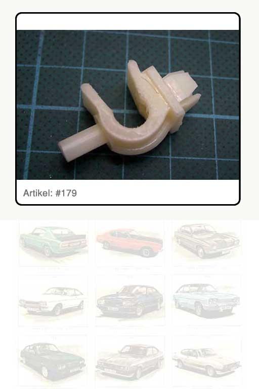 Clip / Halter / Befestigungsklammer, Kunststoff