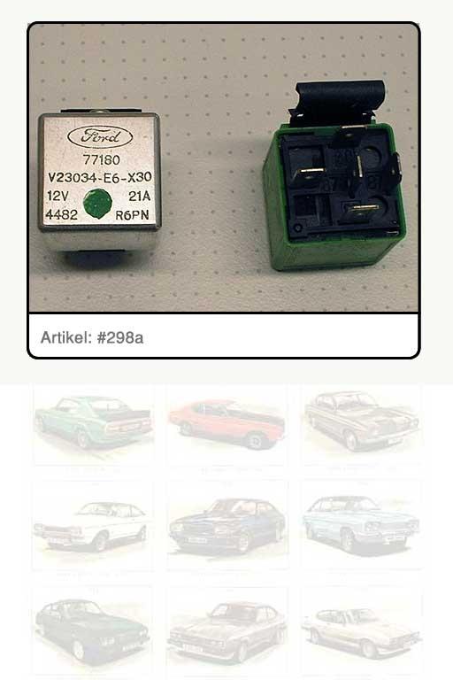 Relais Einspritzanlage/Kraftstoffpumpe