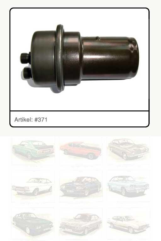 Kraftstoffspeicher für Motor V6 / 2.8l