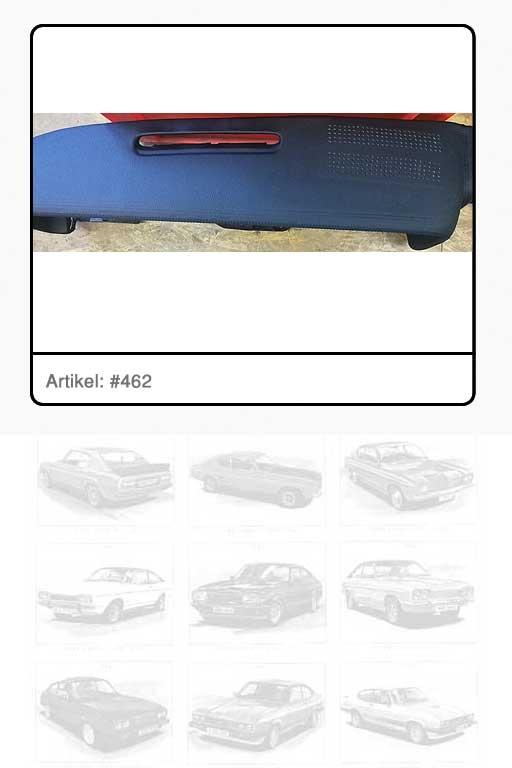 Sicherheitsabdeckung Instrumententafel Farbe SCHWARZ